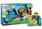 Follow Me Thomas With Free Gift 3 Years+, FREE Fisher Price Sodor Paint Shop Worth R...