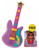 Singing Star Guitar with Free Gift 3 Years+, Fabulous offer FREE Fisher - Price Dora Do...