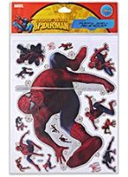 Spider Man - Puffy Jwell A4 Sticker