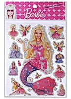 Barbie - Puffy Jwell A4 Sticker