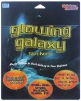 Glowing Galaxy Stickers See the wonderful starry nights everyday!!