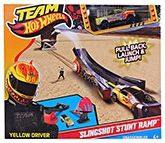 Hot Wheels - Slingshot Stunt Ramp Launcher