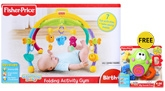 Folding Active Baby Gym FREE Fisher Price Silly Sounds Frog Worth Rs 799/- B...