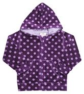 Hooded Sweat Shirt - Dotted Print
