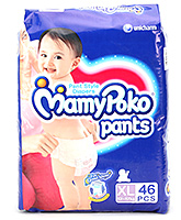 Mamy Poko Pants Pant Style Diapers XL - 46 Pieces