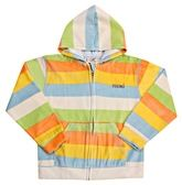 Hooded Sweat Shirt - Stripes