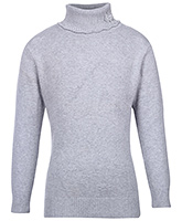 Full Sleeves Polo Neck Sweater