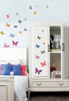 Kidocent - Fix Pix Printed Butterflies Wall Decals