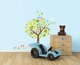 Kidocent - Fix Pix Tree of Hearts Wall Decals