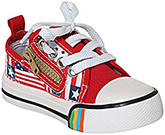 Cute Walk - Canvas Shoes With Stylish Side Zip