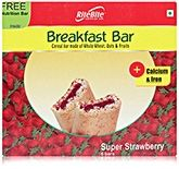 RiteBite Super Strawberry Breakfast Bar - Pack Of 6