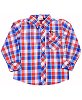 Full Sleeves Cotton Check Shirt