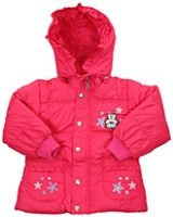Exclusive Hooded Style Jacket With Bear Print