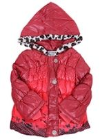Stylish Puffer Hooded Jacket
