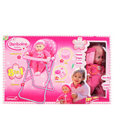 Bambolina High Chair Set 3 Years +, Soft Body Doll!