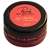 Eco Corner Strawberry Lip Balm