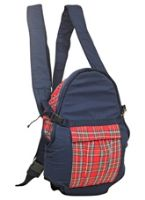 Buy Fab N Funky Baby Carrier Check Pattern Blue N Red - Upto 9 kg