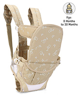 Buy Fab N Funky Soft Baby Carrier 6 In 1 Cream - Upto 12 Kg
