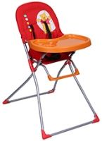 Hauck - Mac Baby V - Pooh Red Highchair