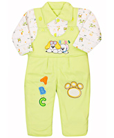 Full Sleeves T-Shirt Suit With Bear Print