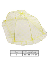 Fab & Funky - Baby Mosquito Net With Flower Design