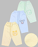 Baby Hug - Striped And Printed Casual Bottoms
