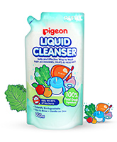Pigeon Bottle Nipple and Vegetable Liquid Cleanser Refill Pack - 700 ml