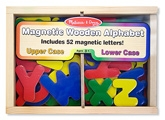 Melissa & Dough - Magnetic Wooden Alphabet