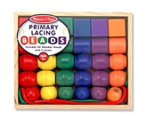 Melissa & Doug - Primary Lacing Beads