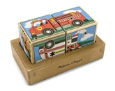 Melissa & Doug - Vehicles Sound Blocks