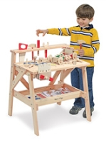 Melissa & Doug - Wooden Project Workbench