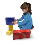 Melissa &amp; Doug - Jumbo Cardboard Blocks 