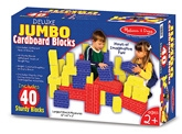 Melissa &amp; Doug - Deluxe Jumbo Cardboard Blocks