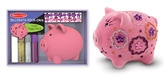 Melissa & Doug - Decorate Your Own Fuzzy Piggy Bank