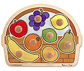 Melissa & Doug - Large Jumbo Knob Fruit Basket