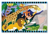 Melissa &amp; Doug - Safari Social Floor Puzzle 