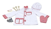 Melissa &amp; Doug - Chef Role Play Costume Set