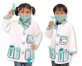 Melissa & Doug - Doctor Role Play Costume Set