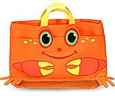 Melissa &amp; Doug - Clicker Crab Beach Tote Bag