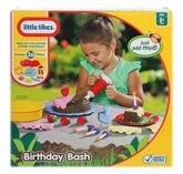 Little Tikes - Birthday Bash 2 Years+, 26 Pieces, Make Your Own Pretend Birthday ...