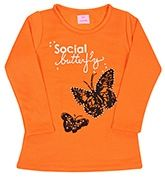 Isabelle - Full Sleeves Top With Butterfly Print