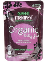 Green Monkey 100% Organic Baby Food