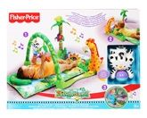 Fisher-Price - RainForest 1-2-3 Musical ... 0 Months+, 3 Grow-with-me stages, Spin for music