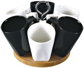 Mom Italy Mug Set With Stand