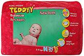Teddyy Premium Baby Diapers New Born - 21 Pieces