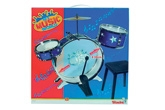 My Music World Plastic Power Drum Set 3 Years +, An amazing drum set for your kid