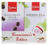 Typhoo Combo Pack Of Black Currant Bracer And Green Tea