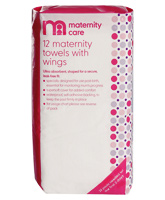 Mother Care Maternity Pads with Wings