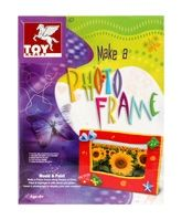 Toy Kraft - Make A Photo Frame 5 Years+, Create your own art with this photo frame ...