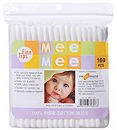 Ear Buds 100 Pieces, 100% Pure Cotton Buds